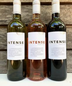 Witte wijn, rose wijn en rode wijn van Intense d'Oc