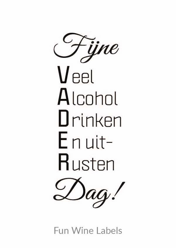 wijn quote voor vaderdag