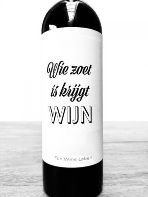 Zoet Wijn