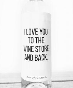 wijnetiket wine store