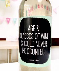 wijnetiket age wine