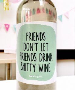 wijnetiket drink wine
