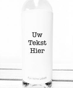 Gepersonaliseerd wijn etiket sticker
