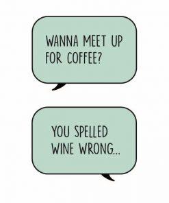 Kaart Wine van fun wine labels