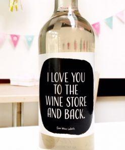 wijnetiket love wine