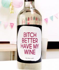wijnetiket my wine
