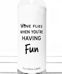 wijnetiket wine flies