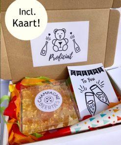 Proficiat Brievenbusbox Fun, brievenbus pakket voor verjaardag