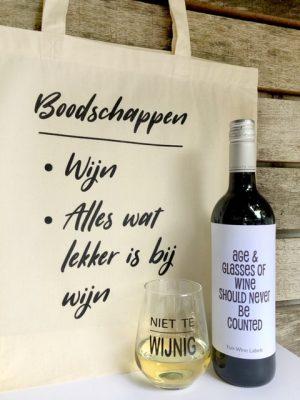 Wijngek Pakket – Rood