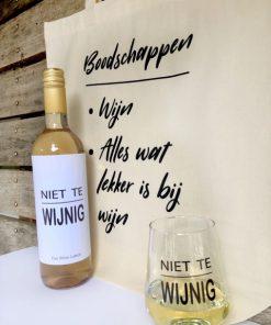Wijngek Pakket Wit - Perfect cadeau voor elke wijnliefhebber