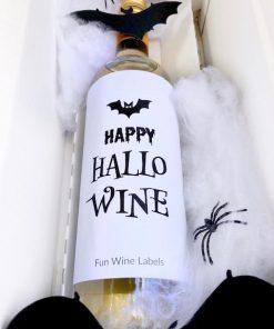 Halloween Pakket Wit, perfect cadeau voor Halloween voor wijnliefhebber