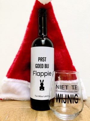 Kerstpakket Fles & Glas