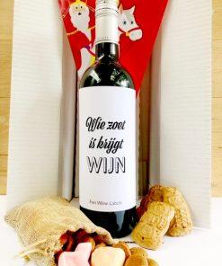 Sinterklaas Pakket Rood, stuur een pakket op met sinterklaas