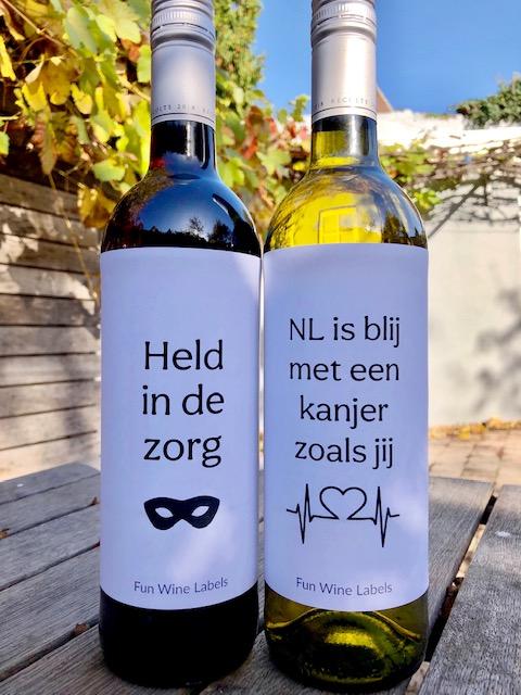 Zorg Held & Zorg Kanjer cadeautje voor de zorg