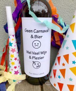 carnaval pakket voor een online carnaval borrel