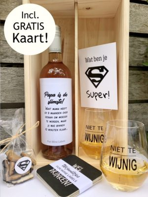 Cheers Papa Wijnkist