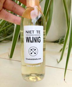 kleintje wijn wit