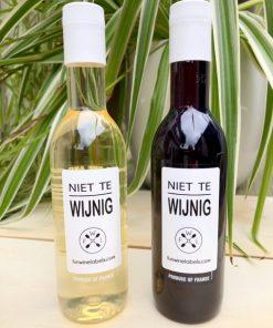 kleintje wijn wit en rood