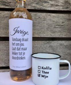 wijn en mok pakket