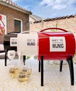 Wijnbar Winy Tap in drie kleuren